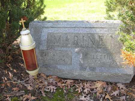 MARINE, ROBERT O. - Union County, Ohio   ROBERT O. MARINE - Ohio Gravestone Photos