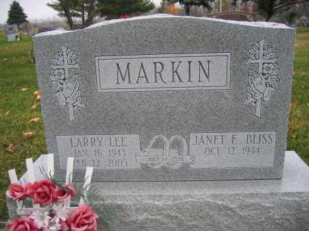 MARKIN, LARRY LEE - Union County, Ohio | LARRY LEE MARKIN - Ohio Gravestone Photos