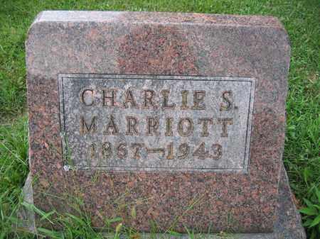 MARRIOTT, CHARLES S. - Union County, Ohio | CHARLES S. MARRIOTT - Ohio Gravestone Photos