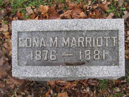 MARRIOTT, EDNA M. - Union County, Ohio | EDNA M. MARRIOTT - Ohio Gravestone Photos