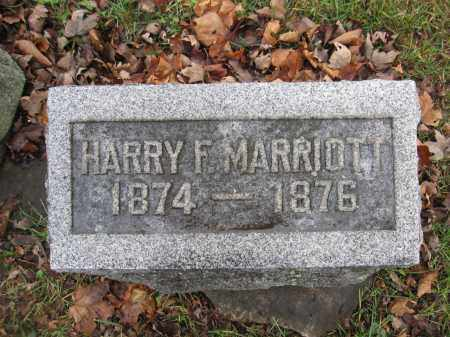 MARRIOTT, HARRY F. - Union County, Ohio | HARRY F. MARRIOTT - Ohio Gravestone Photos