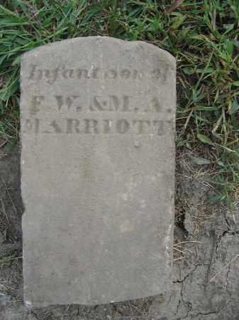 MARRIOTT, INFANT - Union County, Ohio   INFANT MARRIOTT - Ohio Gravestone Photos