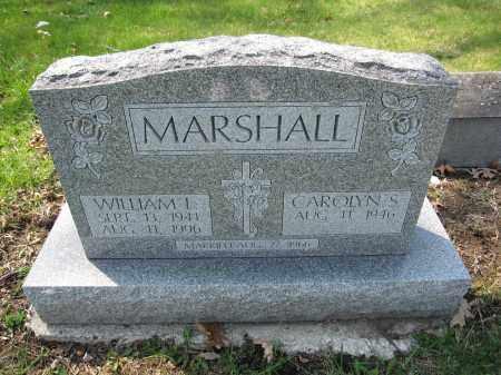 MARSHALL, CAROLYN S. - Union County, Ohio | CAROLYN S. MARSHALL - Ohio Gravestone Photos