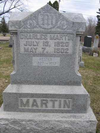 MARTIN, CHARLES - Union County, Ohio | CHARLES MARTIN - Ohio Gravestone Photos