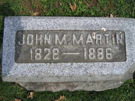 MARTIN, JOHN M. - Union County, Ohio | JOHN M. MARTIN - Ohio Gravestone Photos