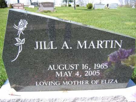 MARTIN, JILL A - Union County, Ohio | JILL A MARTIN - Ohio Gravestone Photos