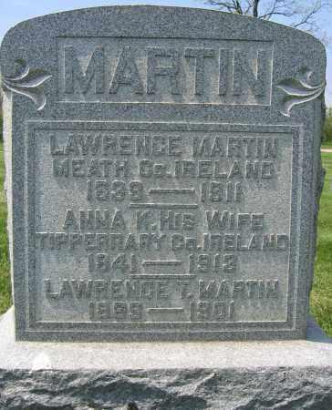 MARTIN, LAWRENCE - Union County, Ohio | LAWRENCE MARTIN - Ohio Gravestone Photos