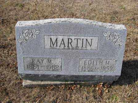 MARTIN, EDITH M. - Union County, Ohio | EDITH M. MARTIN - Ohio Gravestone Photos