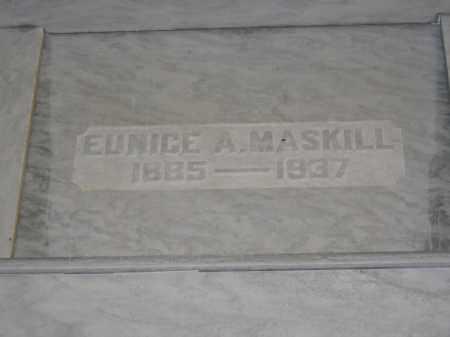 MASKILL, EUNICE A. - Union County, Ohio | EUNICE A. MASKILL - Ohio Gravestone Photos
