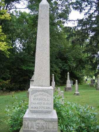 MASKILL, ISABELLA - Union County, Ohio | ISABELLA MASKILL - Ohio Gravestone Photos