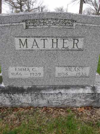 MATHER, EMMA C. - Union County, Ohio   EMMA C. MATHER - Ohio Gravestone Photos