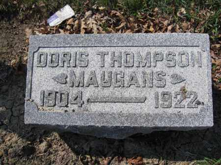 MAUGANS, DORIS THOMPSON - Union County, Ohio   DORIS THOMPSON MAUGANS - Ohio Gravestone Photos