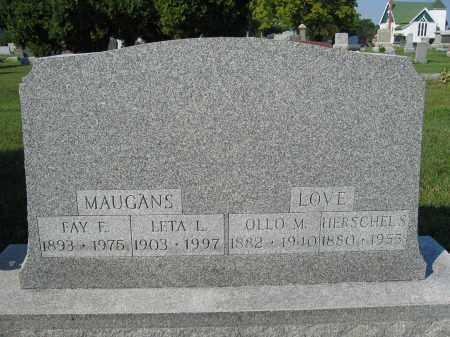 MAUGANS, FAY E. - Union County, Ohio | FAY E. MAUGANS - Ohio Gravestone Photos