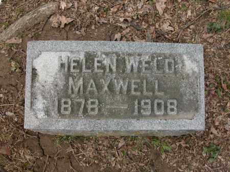 MAXWELL, HELEN WELD - Union County, Ohio   HELEN WELD MAXWELL - Ohio Gravestone Photos