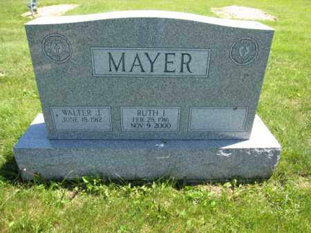 MAYER, RUTH I. - Union County, Ohio | RUTH I. MAYER - Ohio Gravestone Photos