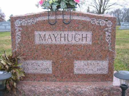 MAYHUGH, ANNA E. - Union County, Ohio | ANNA E. MAYHUGH - Ohio Gravestone Photos