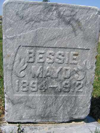 MAYO, BESSIE - Union County, Ohio | BESSIE MAYO - Ohio Gravestone Photos