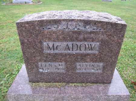 MCADOW, ALVIN N. - Union County, Ohio | ALVIN N. MCADOW - Ohio Gravestone Photos