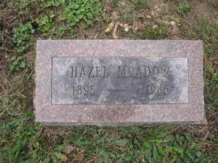 MCADOW, HAZEL - Union County, Ohio   HAZEL MCADOW - Ohio Gravestone Photos