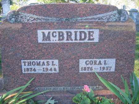 MCBRIDE, CORA I. - Union County, Ohio | CORA I. MCBRIDE - Ohio Gravestone Photos