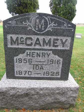 MCCAMEY, IDA - Union County, Ohio | IDA MCCAMEY - Ohio Gravestone Photos