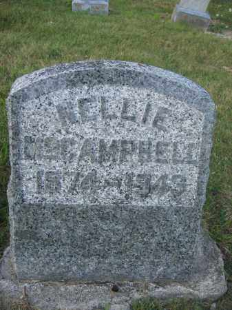 MCCAMPBELL, NELLIE - Union County, Ohio | NELLIE MCCAMPBELL - Ohio Gravestone Photos