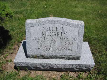 MCCARTHY, NELLIE M. - Union County, Ohio | NELLIE M. MCCARTHY - Ohio Gravestone Photos