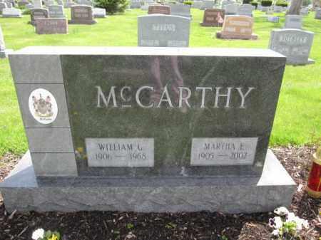 MCCARTHY, WILLIAM G. - Union County, Ohio | WILLIAM G. MCCARTHY - Ohio Gravestone Photos
