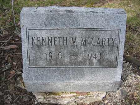 MCCARTY, KENNETH M. - Union County, Ohio | KENNETH M. MCCARTY - Ohio Gravestone Photos