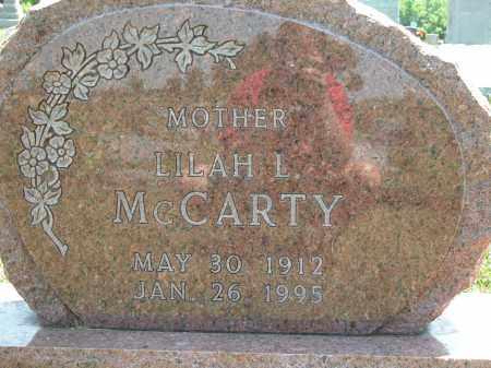 MCCARTY, LILAH L. - Union County, Ohio | LILAH L. MCCARTY - Ohio Gravestone Photos