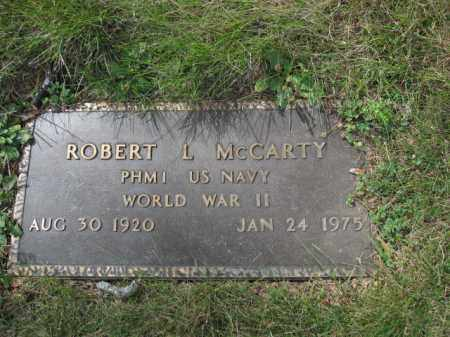 MCCARTY, ROBERT L. - Union County, Ohio | ROBERT L. MCCARTY - Ohio Gravestone Photos
