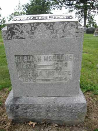 MCCLUNG, HERMAN - Union County, Ohio | HERMAN MCCLUNG - Ohio Gravestone Photos