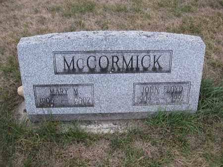 MCCORMICK, JOHN FLOYD - Union County, Ohio   JOHN FLOYD MCCORMICK - Ohio Gravestone Photos