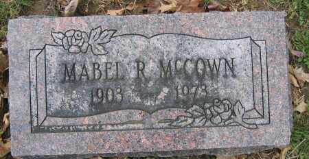 MCCOWN, MABEL R. - Union County, Ohio | MABEL R. MCCOWN - Ohio Gravestone Photos