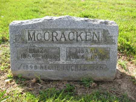 MCCRACKEN, NELLIE LUCILLE - Union County, Ohio | NELLIE LUCILLE MCCRACKEN - Ohio Gravestone Photos