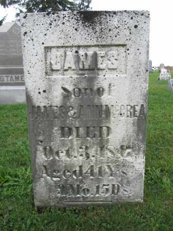 MCCREA, JAMES - Union County, Ohio | JAMES MCCREA - Ohio Gravestone Photos
