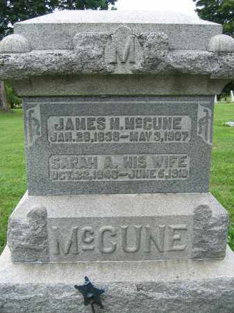 MCCUNE, JAMES M. - Union County, Ohio | JAMES M. MCCUNE - Ohio Gravestone Photos