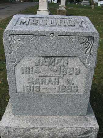 MCCUROY, SARAH W. - Union County, Ohio   SARAH W. MCCUROY - Ohio Gravestone Photos