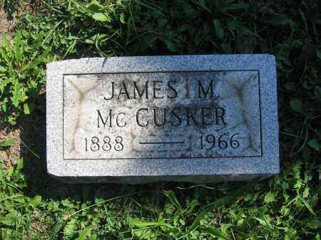 MCCUSKER, JAMES M. - Union County, Ohio | JAMES M. MCCUSKER - Ohio Gravestone Photos