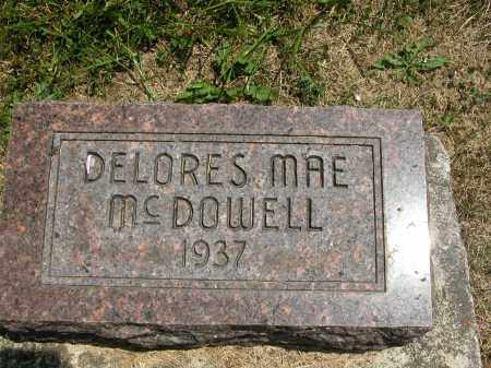 MCDOWELL, DELORES MAE - Union County, Ohio | DELORES MAE MCDOWELL - Ohio Gravestone Photos