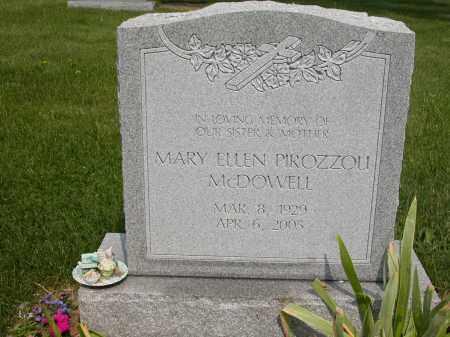 MCDOWELL, MARY ELLEN - Union County, Ohio | MARY ELLEN MCDOWELL - Ohio Gravestone Photos