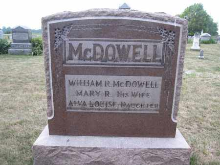 MCDOWELL, ALVA LOUISE - Union County, Ohio | ALVA LOUISE MCDOWELL - Ohio Gravestone Photos