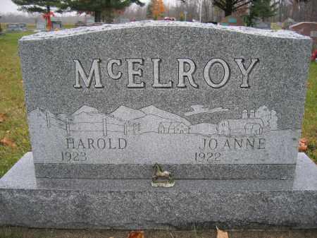 MCELROY, JOANNE - Union County, Ohio   JOANNE MCELROY - Ohio Gravestone Photos
