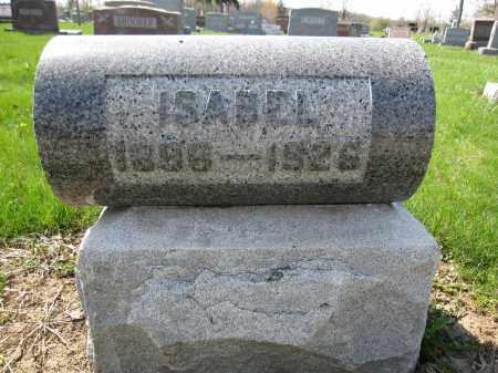 MCELVIE, ISABEL - Union County, Ohio | ISABEL MCELVIE - Ohio Gravestone Photos