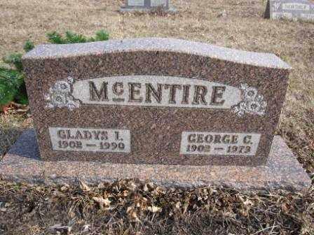 MCENTIRE, GEORGE C. - Union County, Ohio | GEORGE C. MCENTIRE - Ohio Gravestone Photos