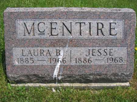 MCENTIRE, JESSE - Union County, Ohio | JESSE MCENTIRE - Ohio Gravestone Photos