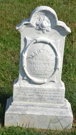 MCENTIRE, MARTHA - Union County, Ohio | MARTHA MCENTIRE - Ohio Gravestone Photos