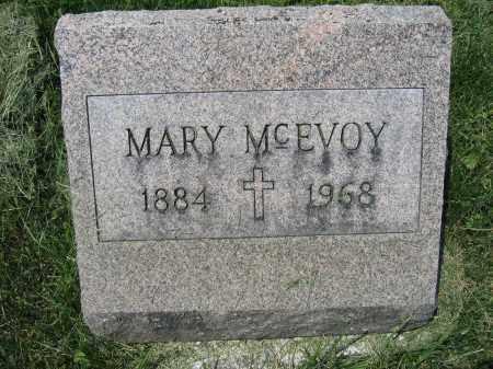 MCEVOY, MARY - Union County, Ohio | MARY MCEVOY - Ohio Gravestone Photos
