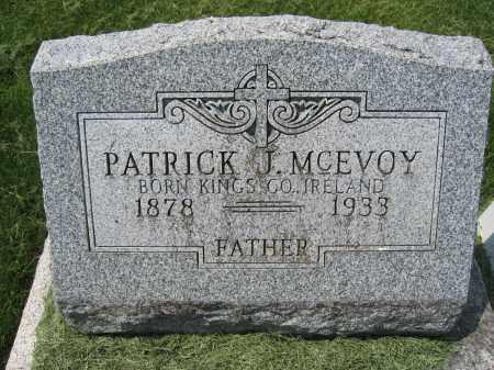 MCEVOY, PATRICK J. - Union County, Ohio | PATRICK J. MCEVOY - Ohio Gravestone Photos