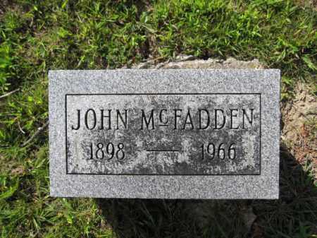 MCFADDEN, JOHN - Union County, Ohio | JOHN MCFADDEN - Ohio Gravestone Photos